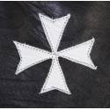 Knights of Malta Maltese Cross Masonic Gauntlets in Real Leather