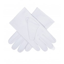 Freemason Masonic Gloves in Real Kid Leather - Re-enactor Leather Gloves