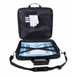 Set of Master Mason Apron Soft FULL Case in Cordura and Pair of Cotton Gloves